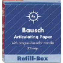 Articulating Paper Strips Refill Blue - Bausch