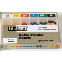 Accessory Gutta Percha Points - Diadent