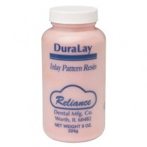 Duralay Powder 8oz Red - Reliance