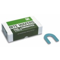 Laminated Blue Bite Wafers - Hygenic