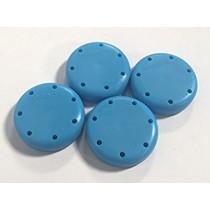7 Hole Magnetic Round Bur Block - Plasdent