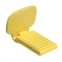 X-Ray Bite Blocks XCP Style Posterior (Yellow) 25/bg - Plasdent