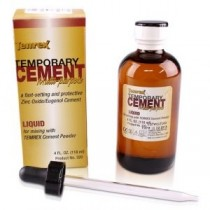 Temrex Temp Cement Liquid 4oz - Temrex
